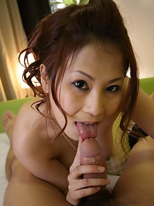 Horny Yuki Aida Hungrily Sucking Cock to Make Hard
