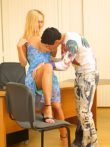 Blonde Banged by Her Partner in Several Ways