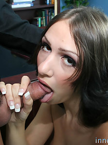 Stunning Schoolgirl Gets Boobs Pressed and Fucked Hard By Her Teacher