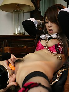 Stockings Wearing Chick Nanami Takase Takes Juicy Pussy Fingering from Dude