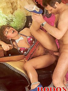 Curly Haired Party Vixen Gets Smashed By Her Hunky Partner
