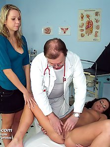 Dazzling Ladies Stripped Their Dresses in Front of Doctor