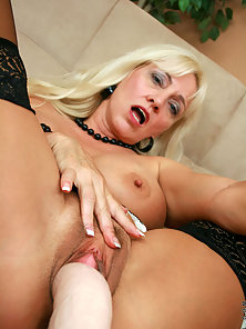 Beautiful Blonde Dildoing Herself Alone for Solo Satisfaction