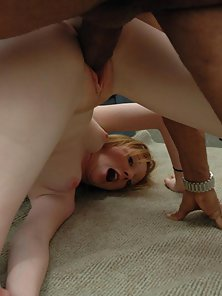 Brown Hair Slut Deepthroat Big Cock of Her Guy on Webcam