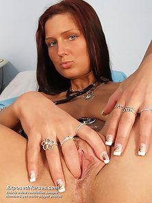 Mature Babe Showing Pussy and Fingering Herself