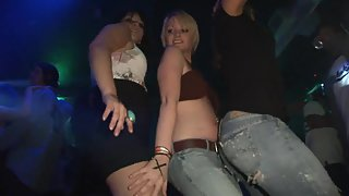 Hot Chicks at Party Dancing And Stripping Off Their Clothes