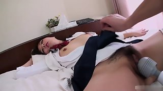 Asian Chick after Blowjob Teased by Boyfriend in Many Poses
