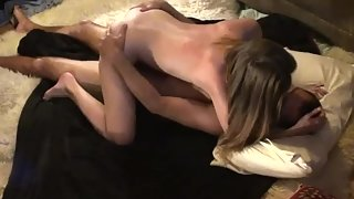 Hungry Girl before Deep Penetration Sucked Partner Cock