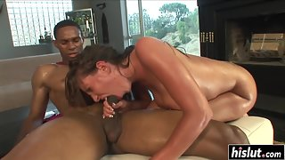 Fabulous Ass Licked and Drilled by Hunky Guy in Various Ways