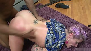 Tattooed Tallulah Tease Fucked Hard by Dude after Sensual Seduction