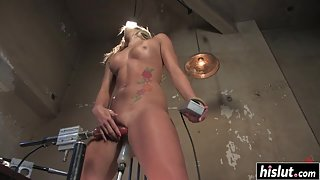 Compilation of Skinny Nude Babes Fucking Themselves Using Sex Toys