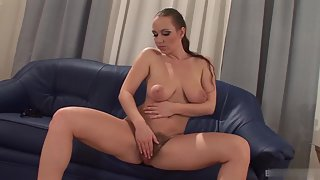 Mature Lady Masturbating Herself Using Dildo