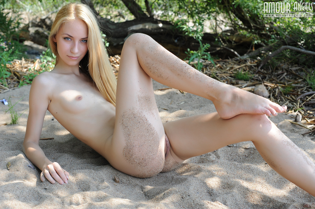 Thin older women naked