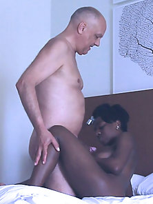 Enjoy some African ebony porn action with porn actress Barbie and porn actor Cane