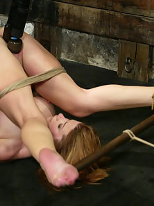 Cutie-pie Sarah gets double dominated