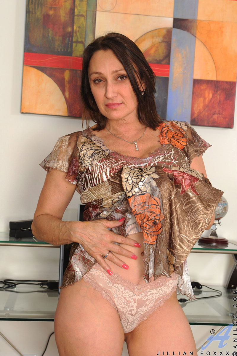 Satisfied naked mature