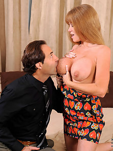 Darla Crane pounded hard into her hot shaved pussy by her lover