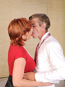 Redhead MILF Anilos Calliste Banged by Partner in Many Ways