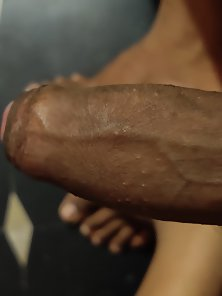 My erect big cock