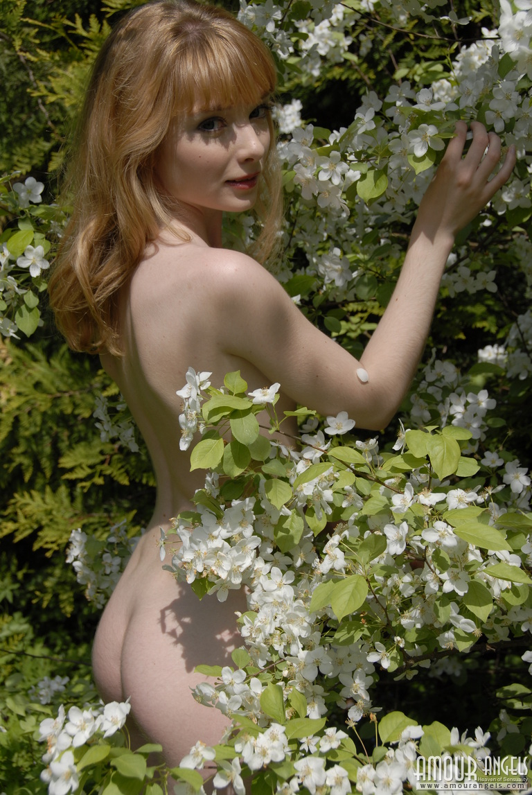 Nude in nature s garb front