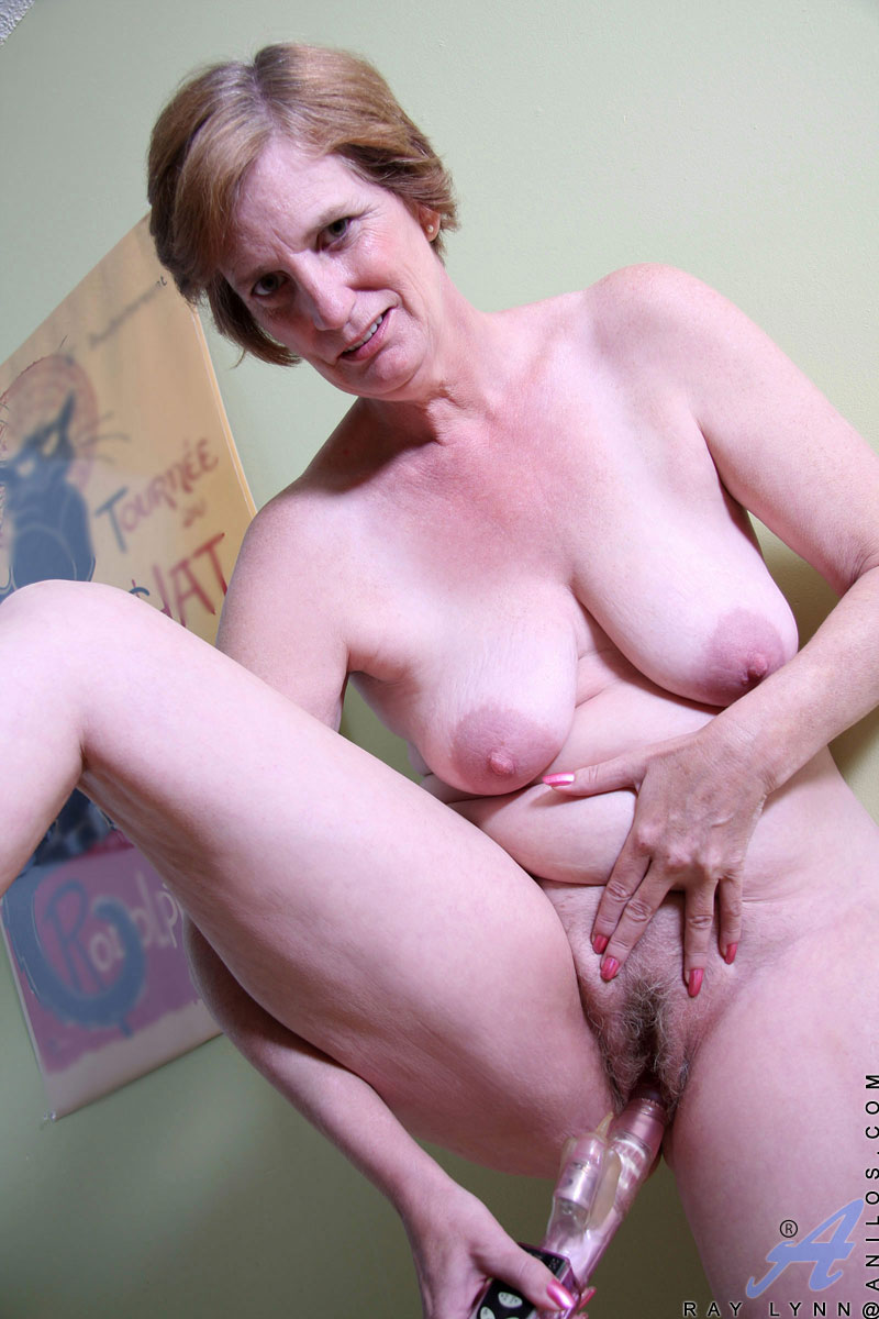 Old Lady Rides Young Cock