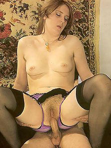 Two Retro Couples Having Good Times Engaged Foursome Sex