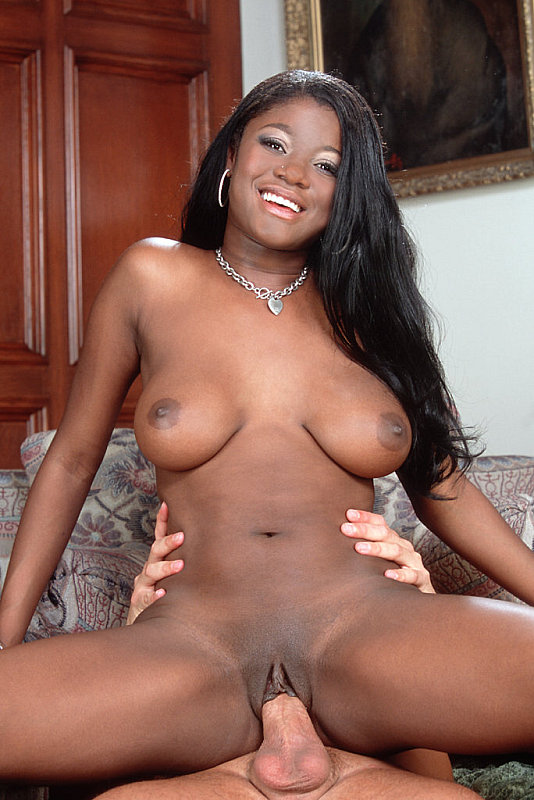 Ebony Fucks White Pool Guy