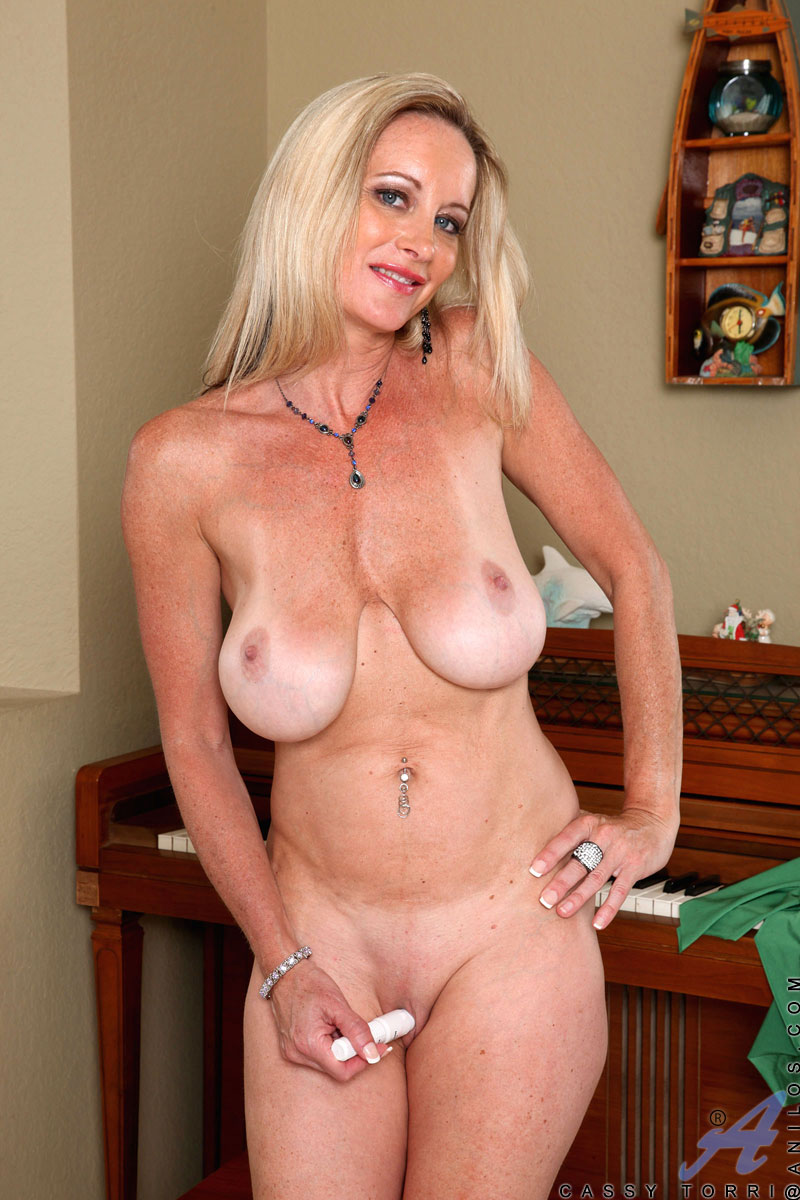 Busty Milf Porn Gallery busty milf cassy torri strips and plays with toys - porn tv