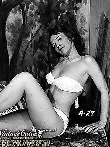 Hot Sultry Model of the Year in Vintage Photograph