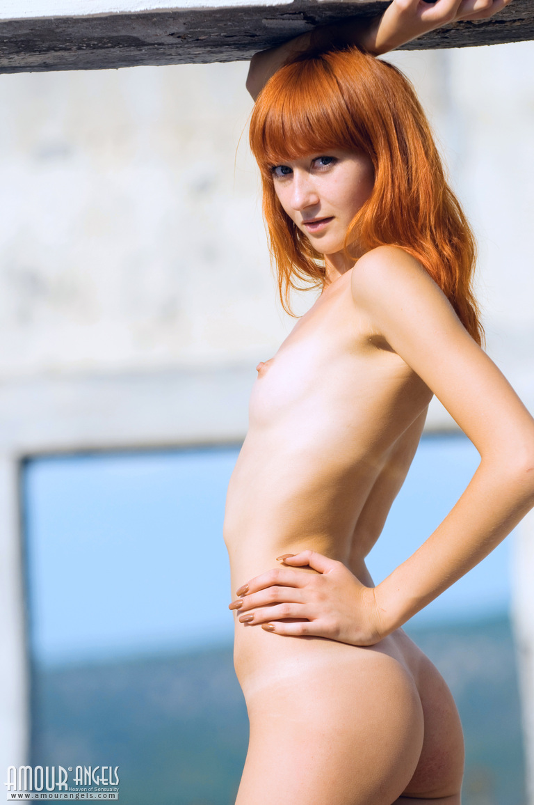 skinny flat amateur ginger naked