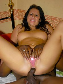 Horny babe gets a massive black snake in her ass