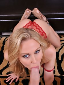 Julia Ann is the master of sucking dick