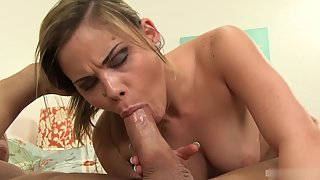 Babe Spreads Legs and Boyfriend Fingering Pussy