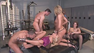 Group of Horny Couples Enjoying Groupsex Together