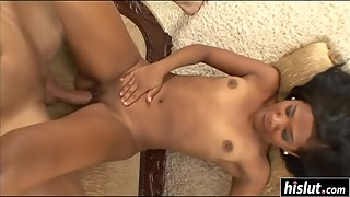 Emy Reyes gets hard fucked by a meaty shaft