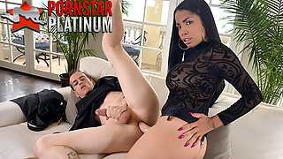 Latina Havana Ginger pegging her nasty husband with a strapon