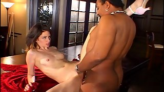 Horny Chick Giving Blowjob to Meaty Dick and Enjoying Sex