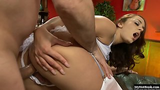 Charming Liza Del Sierras with Round Ass Loves her Pussy Fucked in Doggystyle