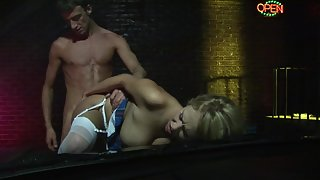 Amazing busty females get screwed in a steamy foursome