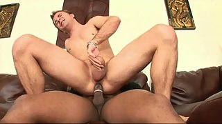 White dude likes a big black dick