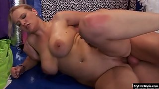 Boob job until he cums are not