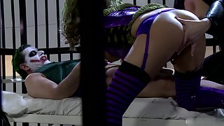Funny Faces Girls Engaged in Lesbian Sex Action