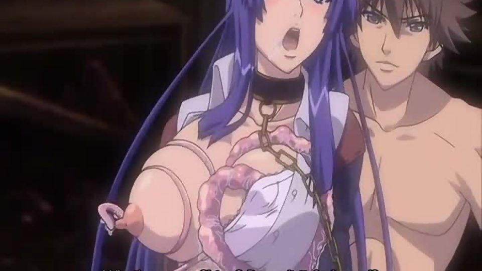 Valuable message Licking boob anime