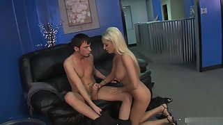 Blonde Seduced Boyfriend and Fucked Hard for Longtime