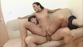 Naughty Secretary Hungrily Sucking Massive Dick and Making Lots of Fun with Boss