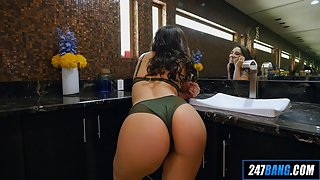 Abella Danger and other sexy babes pose naked for the camera