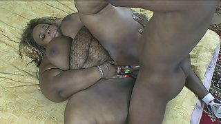 Sexy dude nails BBW ebony